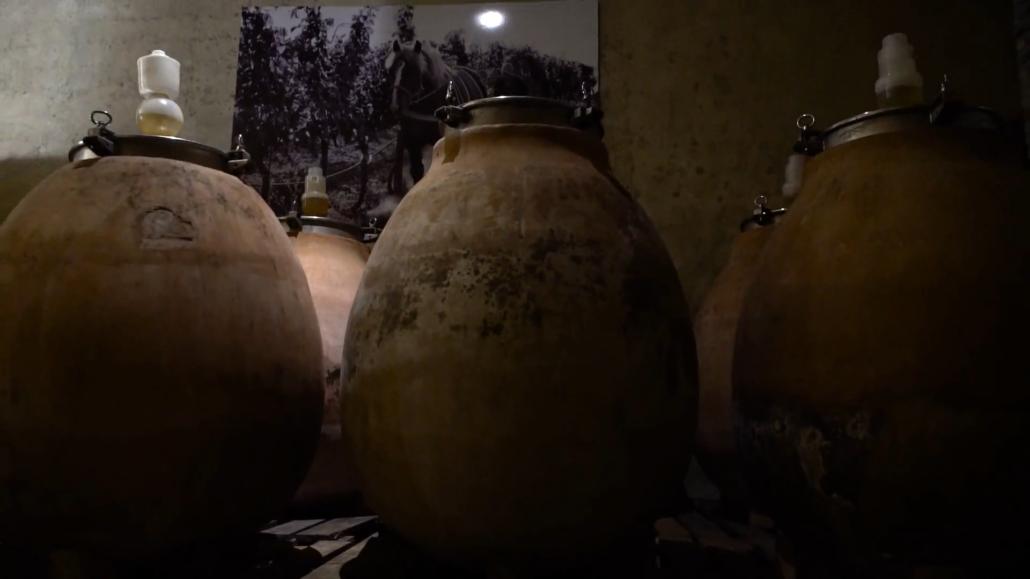 ceramiche romane antiche fermentazione vino
