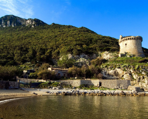 Paola tower Circeo national park Rome