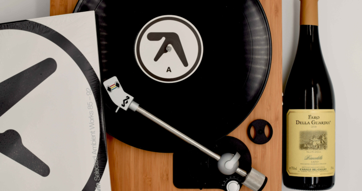 aphex twin selected ambient works album intelligent dance music vino faro della guardia combinazione con vinile