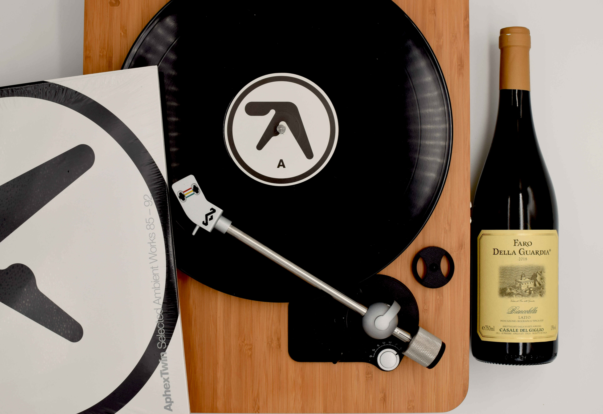 aphex twin selected ambient works album intelligent dance music wine faro della guardia vinyl grapes mediterranean