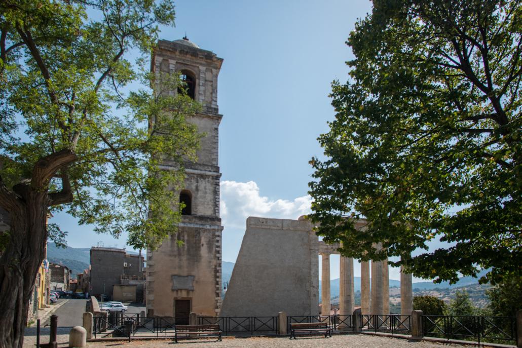 tempio romano d'ercole cori italia