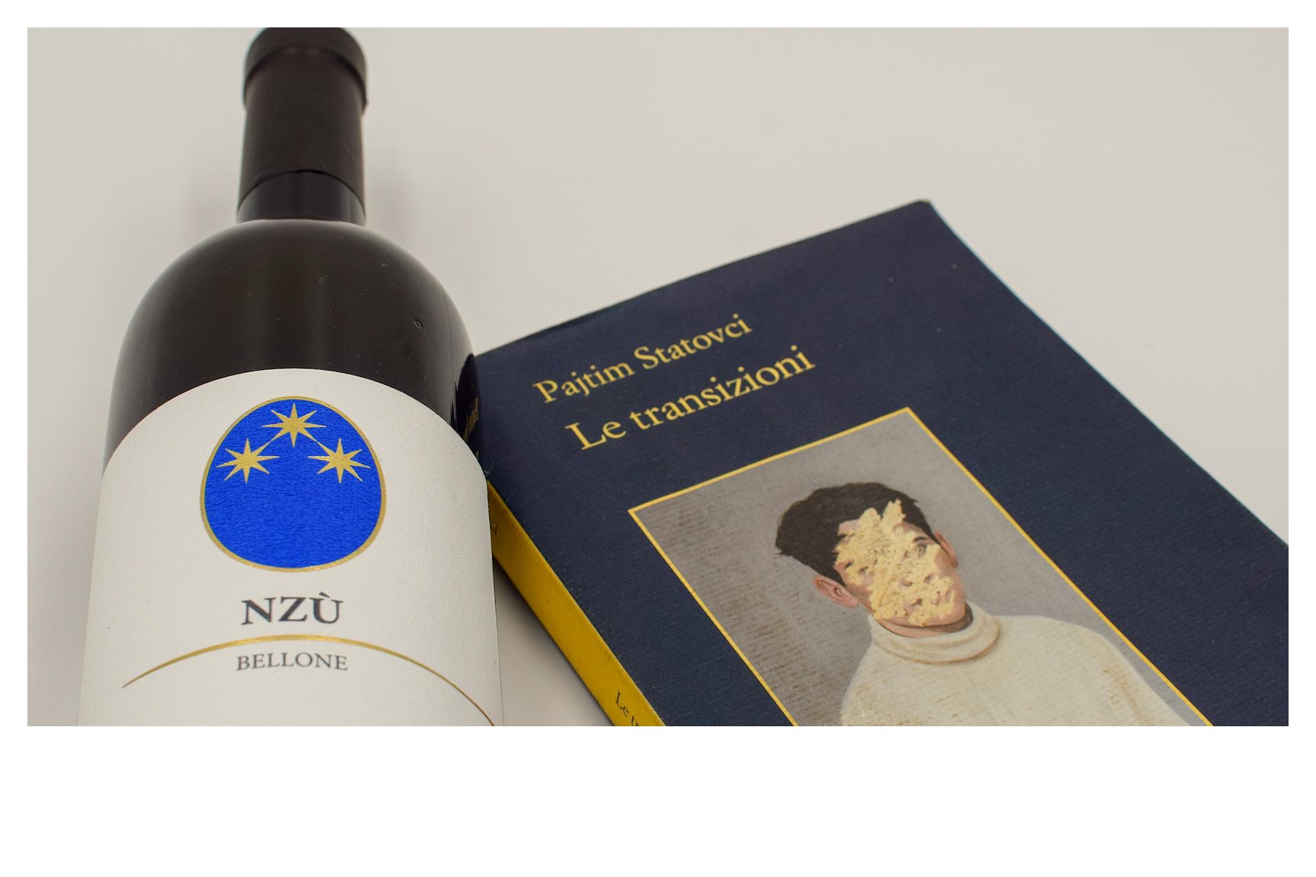 Transizioni di Pahtim Statovci libro e copertina lettura vino
