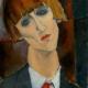madame kisling modigliani ritratto olio su tela