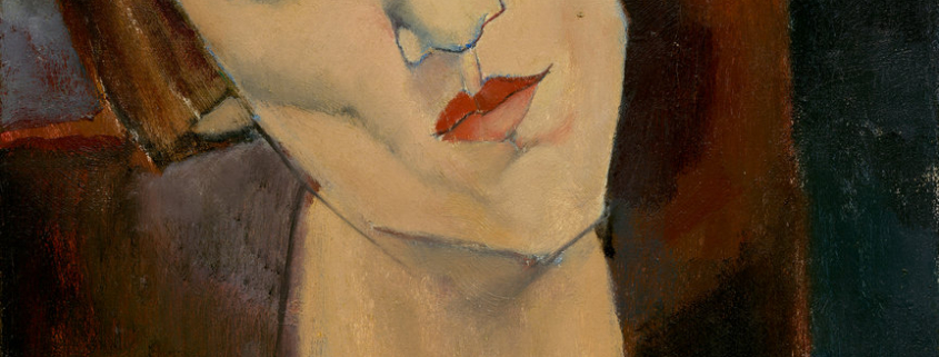 madame kisling modigliani oil on canvas portrait