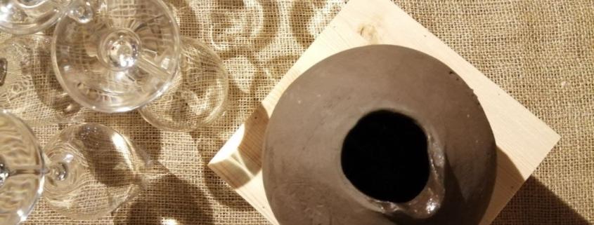 terracotta wine experience clay vineyard